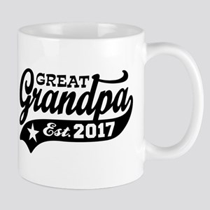 Great Grandpa Est. 2017 Mug